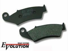 RISE CORPORATION エボリューション セミメタルブレーキパッド EV-161D