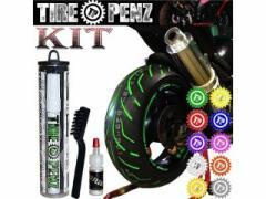 TIRE PENZ タイヤペンズ 塗料・ペイント タイヤペンズ 10ml キット POPPIN PINK