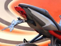 EVOTECH ナンバープレートホルダー プレミアムバージョン TRIUMPH STREET TRIPLE(13-) フェンダ…
