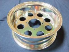 BPアウトレット ゴリラ モンキー ホイール本体 モンキー(アルミ) 10-3.5J