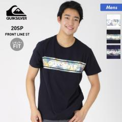 QUIKSILVER クイックシルバー メンズ 半袖 Tシャツ QST201031 ティーシャツ クルーネック プリント トップス 男性用