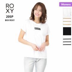 ロキシー ROXY  Tシャツ レディース 半袖 RST201079 ティーシャツ ロゴ クルーネック トップス 女性用