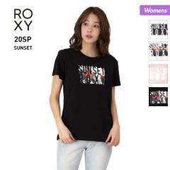 ROXY/ロキシー  Tシャツ レディース 半袖 RST201084 ティーシャツ ロゴ クルーネック トップス ホワイト ブラック ピンク 白 黒 女性用