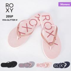 ロキシー ROXY ビーチサンダル レディース ARJL100678 サンダル ペタサンダル ビーサン シャワーサンダル 柄 ビーチ 海水浴 プール 女性