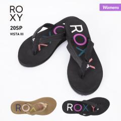 ロキシー ROXY ビーチサンダル レディース ARJL100866 サンダル ペタサンダル ビーサン シャワーサンダル 柄 ビーチ 海水浴 プール 女性
