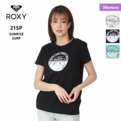 【ポイント3倍増量中】 ROXY ロキシー 半袖 Tシャツ レディース RST211072 トップス ティーシャツ ロゴ 女性用