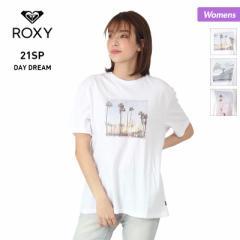 【ポイント3倍増量中】 ROXY ロキシー 半袖 Tシャツ レディース RST211079 トップス ティーシャツ ロゴ 女性用