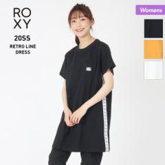 ROXY ロキシー 半袖 Tシャツ レディース RDR202024 ロング丈 トップス 長い ティーシャツ クルーネック 女性用