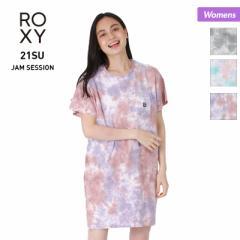 ROXY ロキシー ワンピース レディース RDR212021 タイダイ柄 Tシャツ ロング丈 ティーシャツ 女性用 10%OFF