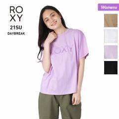 ROXY ロキシー 半袖 Tシャツ レディース RST212025 黒色 ロゴ ブラック ティーシャツ ホワイト カジュアル 白色 女性用 10%OFF