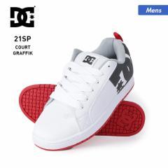 【ポイント3倍増量中】 DC SHOES ディーシー シューズ メンズ DM211023 ヒモ くつ 紐 スニーカー ホワイト 靴 B系 白色 男性用