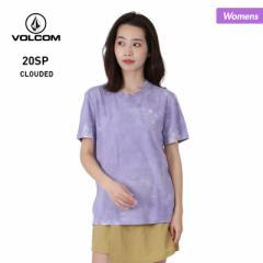 【ポイント3倍増量中】 VOLCOM ボルコム 半袖 Tシャツ レディース B0112001 はんそで ロゴ ティーシャツ UVカット 女性用