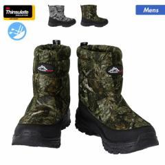 防寒 ブーツ メンズ OBM0011P インソール くつ 取り外し可能 ウインターブーツ 靴 男性用
