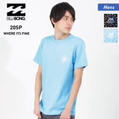 【送料無料】 BILLABONG/ビラボン メンズ 半袖 Tシャツ BA011-207 ティーシャツ クルーネック ロゴ ランニング 男性用