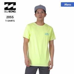 【送料無料】 BILLABONG ビラボン 半袖 Tシャツ メンズ BA011-213 ロゴ トップス ティーシャツ クルーネック 男性用