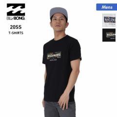 BILLABONG ビラボン 半袖 Tシャツ メンズ BA011-272 ロゴ ホワイト トップス 黒 ティーシャツ クルーネック 白 ブラック 男性用