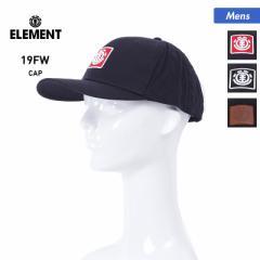 【送料無料】 ELEMENT エレメント キャップ 帽子 ハット  メンズ AJ022-904 アジャスター付き サイズ調節可 ぼうし ベースボールキャップ
