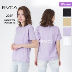 RVCA/ルーカ レディース 半袖 Tシャツ BA043-212 ティーシャツ トップス バックロゴ ルカ 女性用