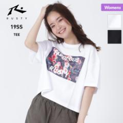 RUSTY ラスティ レディース 半袖 Tシャツ 939505 ティーシャツ ロゴ 女性用