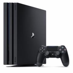 【中古】PS4 Pro プレステ4プロ 本体 ジェット・ブラック 1TB (CUH-7000BB01)【管理:473026】