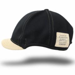 BIGWATCH正規品 大きいサイズ 帽子 メンズ ラウンドアンパイアキャップ ビッグワッチ ブラック/ベージュビッグサイズ/無地 キャップ シン