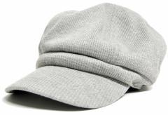 BIGWATCH正規品 大きいサイズ 帽子 メンズ サーマル ビッグ キャスケット/MIXグレー/ビッグサイズ/ビッグワッチ/つば付帽子/Lサイズ L X