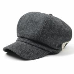 BIGWATCH正規品 大きいサイズ 帽子 メンズ ツイード ビッグ キャスケット ビッグワッチ/ブラック/ビッグサイズ/ビッグワッチ/つば付帽子/