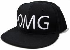 BIGWATCH正規品 大きいサイズ 帽子 メンズ BBキャップ ビッグワッチ/ブラック OMG/ビッグサイズ/ベースボールキャップ/コットンキャップ