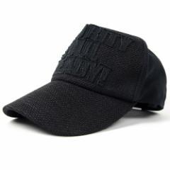 BIGWATCH正規品 大きいサイズ 帽子 メンズ ガレージ ヘンプ コットン キャップ/オールブラック/ビッグサイズ/ビッグワッチ/Lサイズ/UV