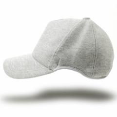BIGWATCH正規品 大きいサイズ 帽子 メンズ 無地 ラウンド スウェットキャップ ビッグワッチ MIXグレー/ビッグサイズ/スポーツキャップ  L