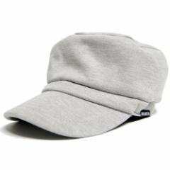 BIGWATCH正規品 大きいサイズ 帽子 メンズ スウェット コットン ワークキャップ/MIXグレー/キャスケット/ビッグワッチ/つば付帽子/Lサイ