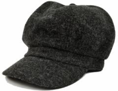 BIGWATCH正規品 大きいサイズ 帽子 メンズ フランネル ビッグ キャスケット ビッグワッチ/チャコールグレー/ビッグサイズ/つば付帽子/L