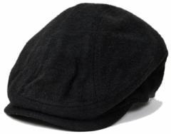 BIGWATCH正規品 大きいサイズ 帽子 メンズ フランネル ハンチング ビッグワッチ ブラック/ビッグワッチ/ハンチング L XL 春夏秋冬 FHN-01