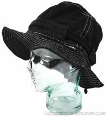 BIGWATCH正規品 大きいサイズ 帽子 メンズ ストリング ハット ビッグワッチ ブラック(黒)/ビッグワッチ/ハット フラットハット L XL 春