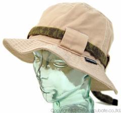 BIGWATCH正規品 大きいサイズ 帽子 メンズ ストリング ハット ビッグワッチ ベージュ(茶)/ビッグワッチ/ハット/アウトドア/フラットハ