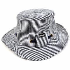 BIGWATCH正規品 大きいサイズ 帽子 メンズ ヒッコリー フラットハット ビッグワッチ/ブラックステッチ/ビッグワッチ/ハット L XL 春夏秋