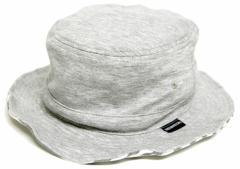 BIGWATCH正規品 大きいサイズ 帽子 メンズ スウェット リバーシブル ボーダー ハット ビッグワッチ MIXグレー ストライプ サファリ フェ