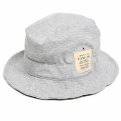 BIGWATCH正規品 大きいサイズ 帽子 メンズ スウェット ハット ビッグワッチ MIXグレー サファリ ワイヤー フェスハット L XL UVケア 春夏