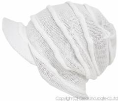 BIGWATCH正規品 大きいサイズ 帽子 メンズ つば付き ヘンプロール ビッグワッチ/ホワイト/ベージュ/ヘンプロール/ニットキャップ/ルーズ/