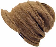 BIGWATCH正規品 大きいサイズ 帽子 メンズ つば付き ヘンプロール ビッグワッチ/ベージュ/ブラウン/ヘンプロール/ニットキャップ/ルーズ/