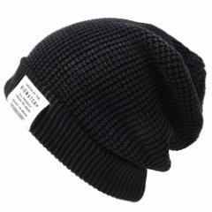 BIGWATCH正規品 大きいサイズ 帽子 メンズ ビッグワッチ ニットキャップ ワンウォッシュ ニット 黒 ビーニー L XL 秋冬 防寒 LG-03