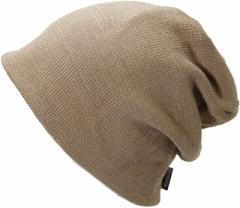 BIGWATCH正規品 大きいサイズ 帽子 メンズ リバーシブル(ビッグワッチ) /ベージュ/ホワイト/ニットキャップ/ルーズ/ワッチキャップ/ニッ