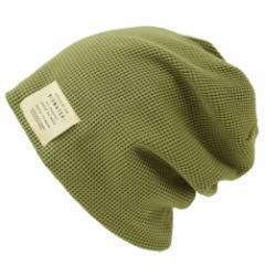 BIGWATCH正規品 大きいサイズ 帽子 メンズ サーマルリバーシブル ビッグワッチ/カーキ/MIXグレー/ニットキャップ/ルーズ/ニット帽子/Lサ