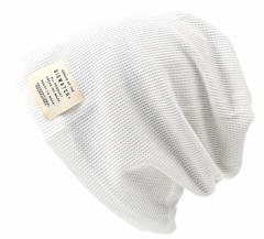 BIGWATCH正規品 大きいサイズ 帽子 メンズ サーマルリバーシブルBIGWATCH/ホワイト/ベージュ 白/ニットキャップ/ルーズ/ニット帽子/Lサ