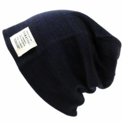 BIGWATCH正規品 大きいサイズ 帽子 メンズ リバーシブル ワッチキャップ ビッグワッチ/MIXネイビー/ブラック/ニットキャップ/ルーズ/