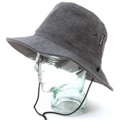 BIGWATCH正規品 大きいサイズ 帽子 メンズ アドベンチャーハット/帽子 サファリテンガロン グレー ボタン付き/ワイドハット/つば広 ビッ