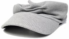 BIGWATCH正規品 大きいサイズ 帽子 メンズ サーマル ターバン バイザー/MIXグレー/ビッグワッチ/サンバイザー/帽子/ターバン/ヘアバンド