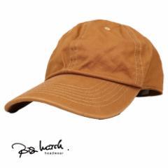大きいサイズ BIGWATCH正規品 メンズ 帽子 L XL コットンキャップ キャメル ローキャップ ビッグサイズ ビッグワッチ コットン 6パネルキ