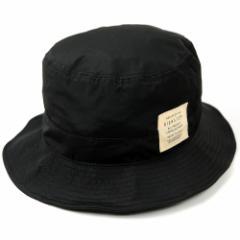 BIGWATCH正規品 大きいサイズ 帽子 メンズ ウォータープルーフ ハット ビッグワッチ 撥水加工 撥水委生地 ブラック サファリ ワイヤー フ