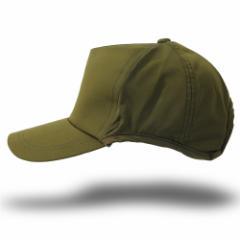 BIGWATCH正規品 大きいサイズ 帽子 メンズ ウォータープルーフ(撥水加工)ラウンドキャップ ビッグワッチ/カーキ/スポーツ/ランニング/